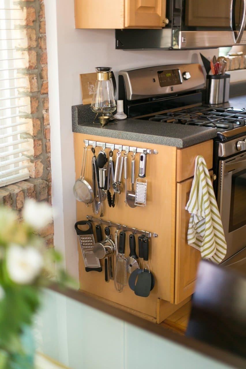 kitchen counter organization 12