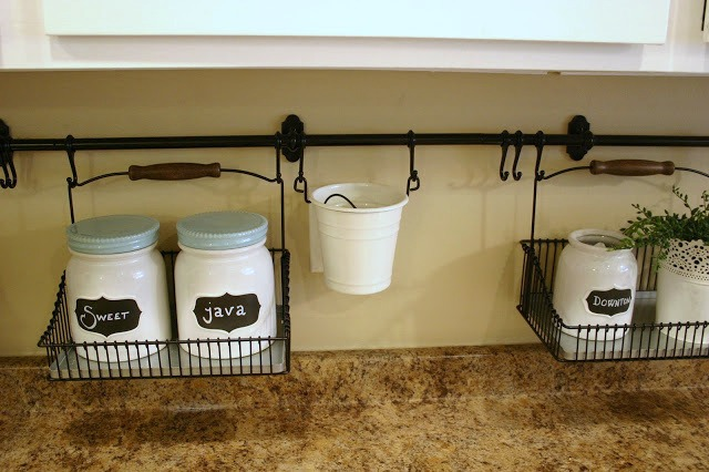 kitchen counter organization 3