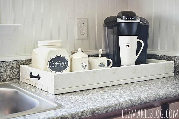 kitchen counter organization 4