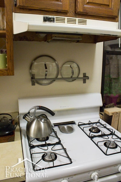 kitchen counter organization 8