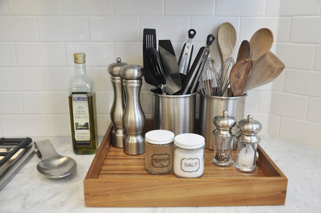 Kitchen Counter Organization Ideas 15 clever ways to get rid of kitchen counter clutter - glue sticks