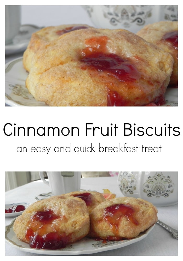 Cinnamon Fruit Biscuits - an easy treat