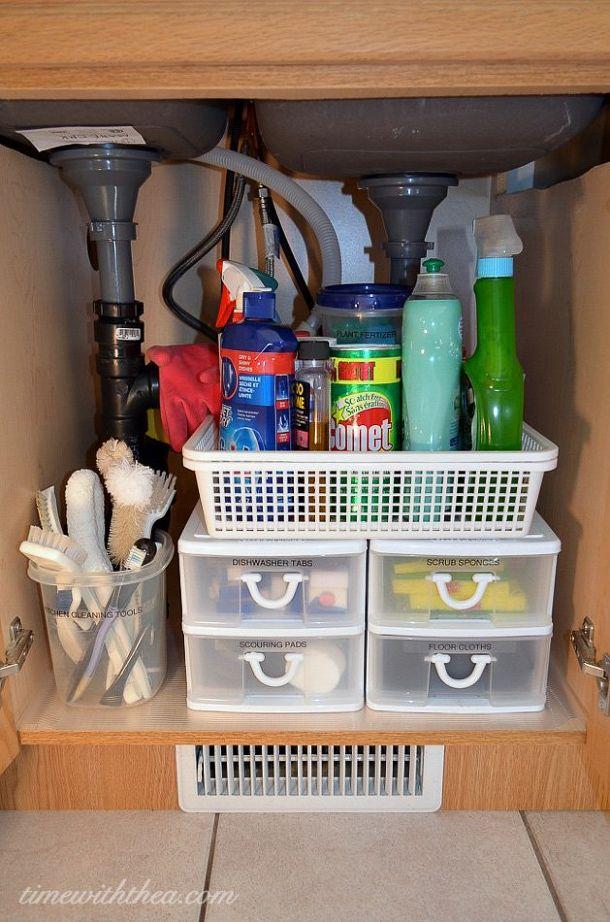 kitchen cabinet organization 5