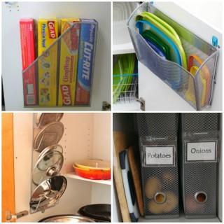 13 Brilliant Kitchen Cabinet Organization Ideas