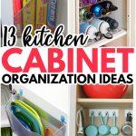 kitchen cabinet organization pin update