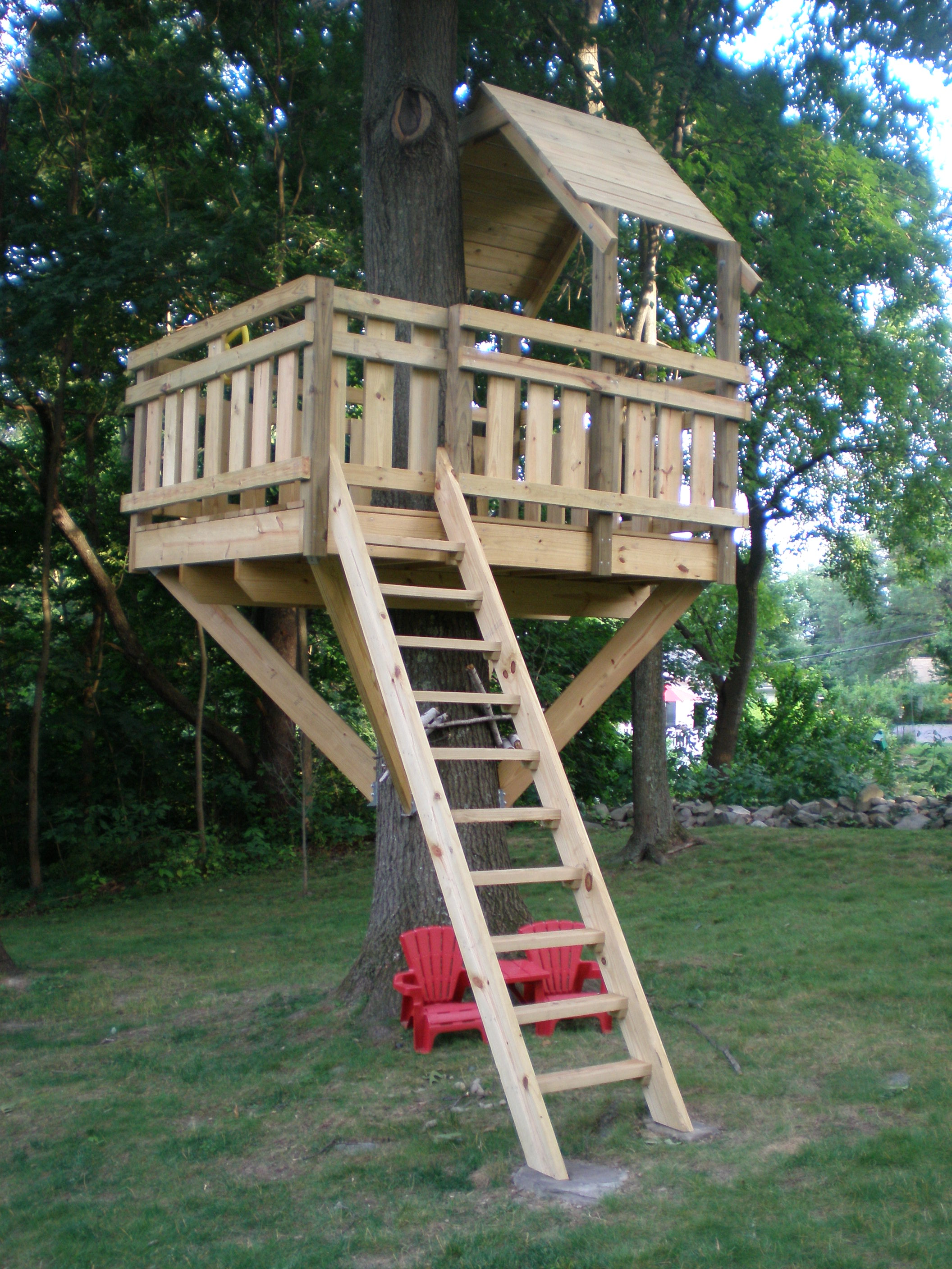 Kids Tree House 13 tree houses your kids will beg you to build - glue sticks and