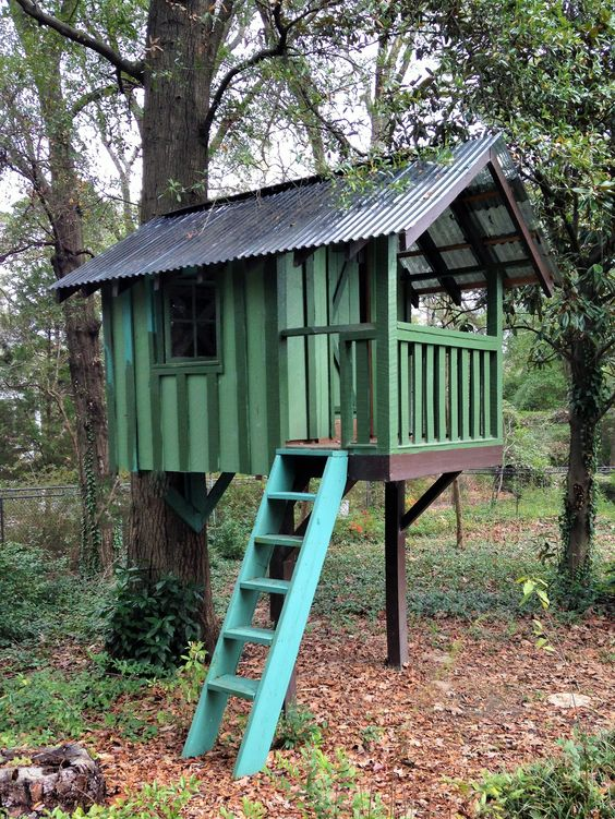 treehouse for kids 8