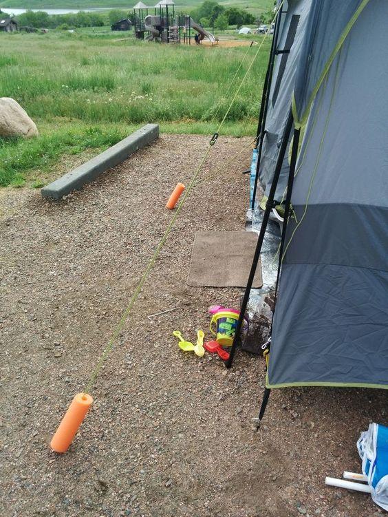 camping hacks 14