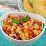 Cantaloupe Lime Salsa – Summer Dip Recipe
