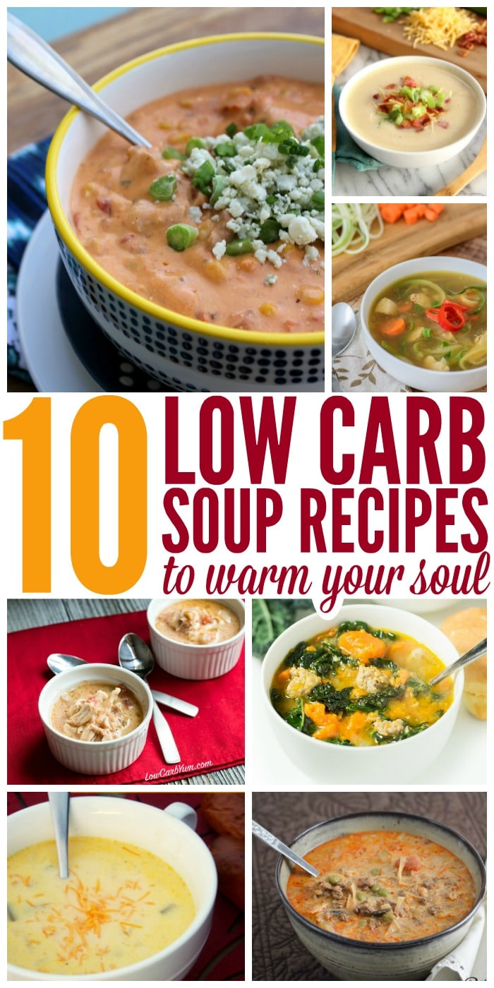10 Low Carb Soup Recipes to Warm Your Soul