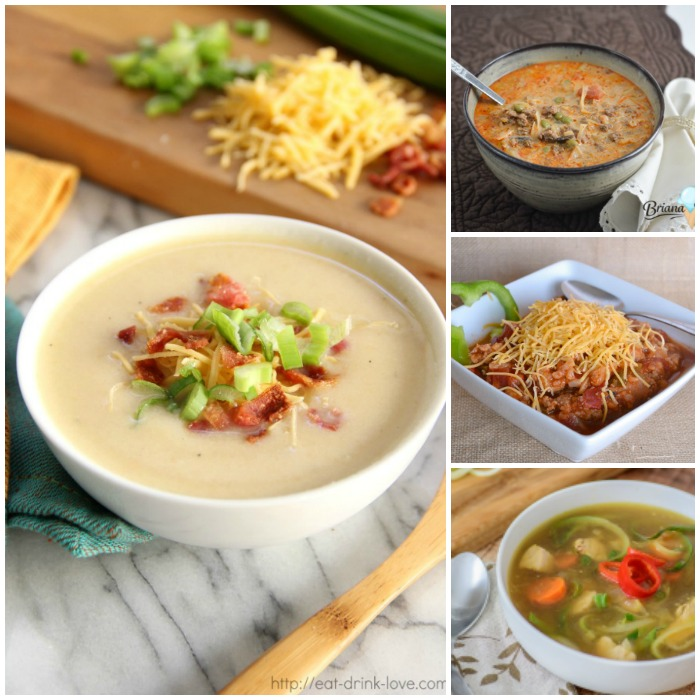 10 Low Carb Soups to Warm Your Soul