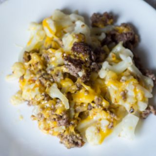 Cauliflower and Ground Beef Hash – Low Carb Recipe
