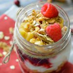 Cranberry Apple Parfait