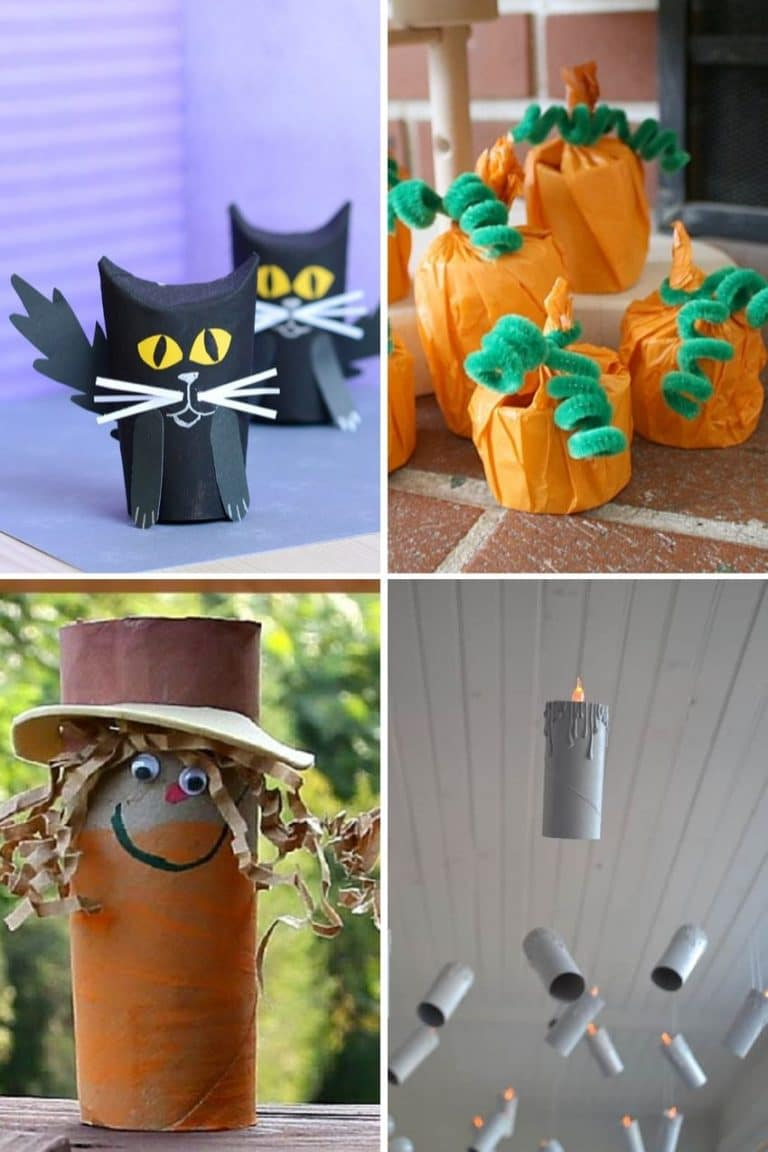 10+ Easy Halloween Toilet Paper Roll Crafts