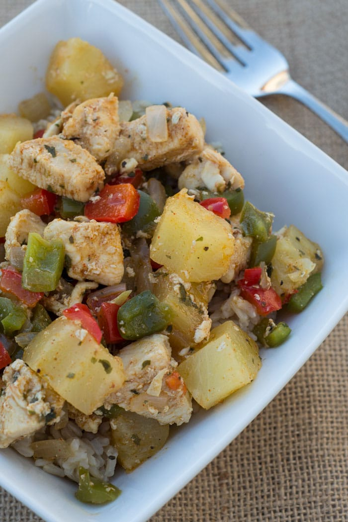 Sweet and Spicy Pineapple Chicken Recipe
