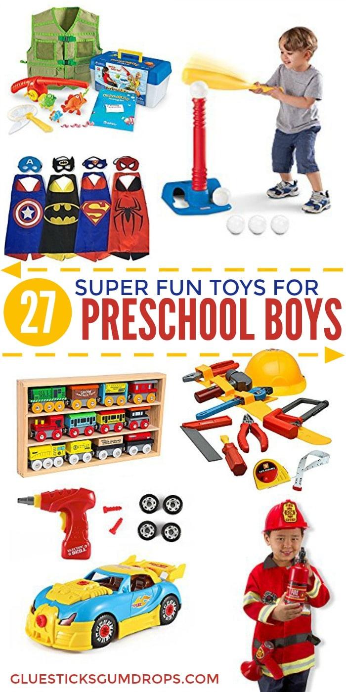 27 Fun Toys for Preschool Boys