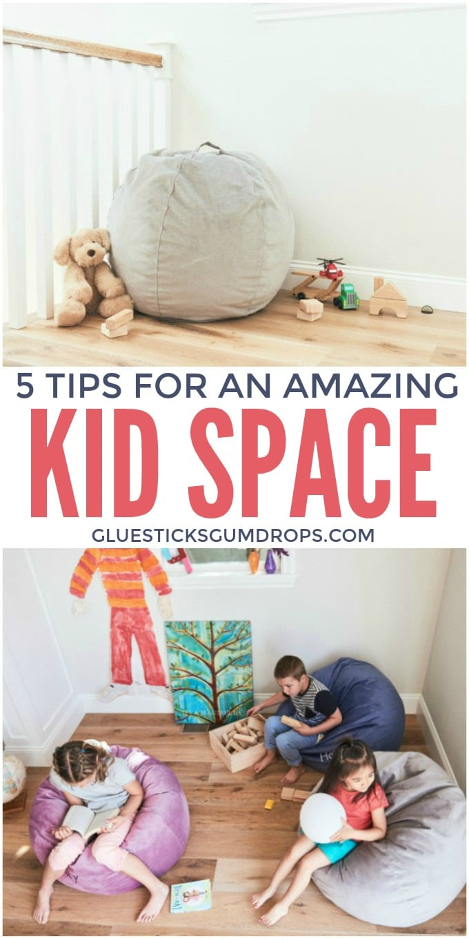 5 Tips for an Amazing Kid Space