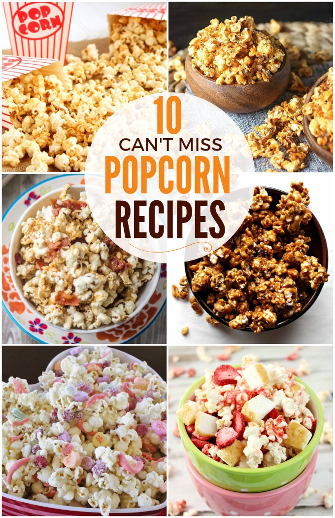 10 Popcorn Recipes That You Can't Pass Up