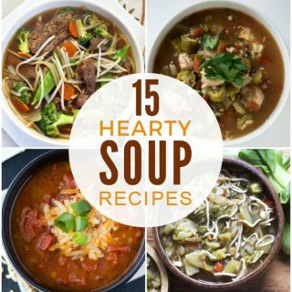 Hearty Soup Recipes + Funtastic Friday Link Party #110