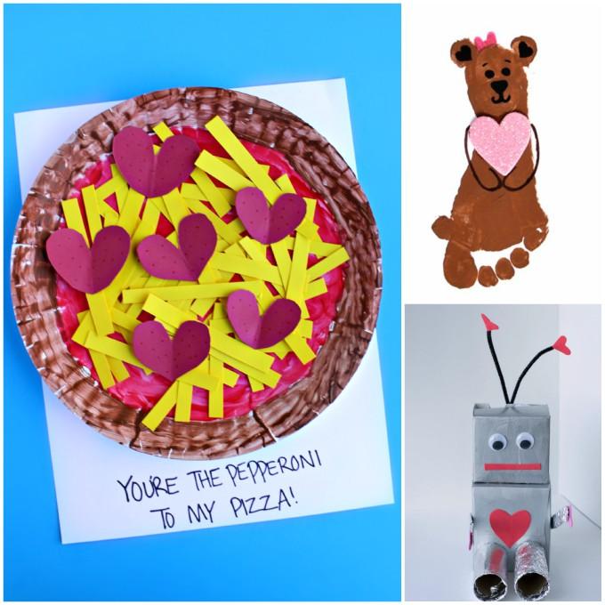 15 Quick & Easy Valentine Crafts for Kids