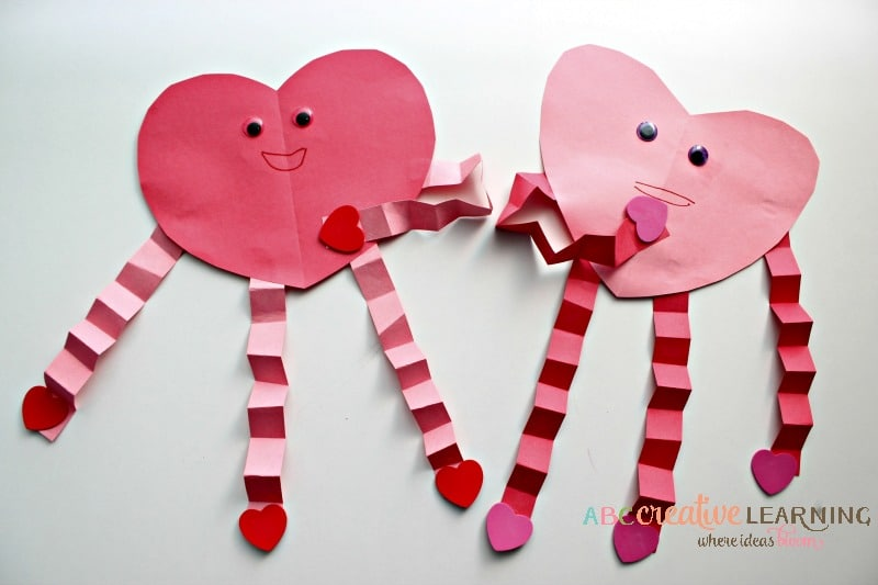 15 quick easy valentine crafts for kids glue sticks for Valentines day art and crafts for preschoolers