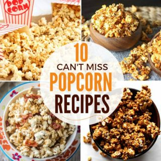 10 Flavored Popcorn Recipes That Are Too Good to Pass Up + Funtastic Friday Link Party 111