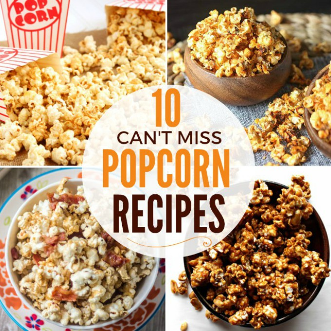 10 Flavored Popcorn Recipes That Are Too Good to Pass Up