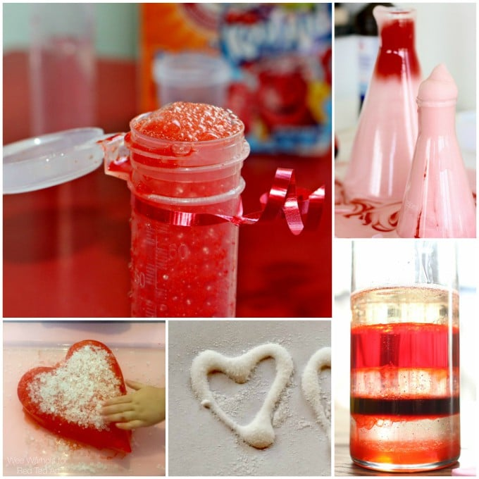 Valentine Science Experiments For Kids