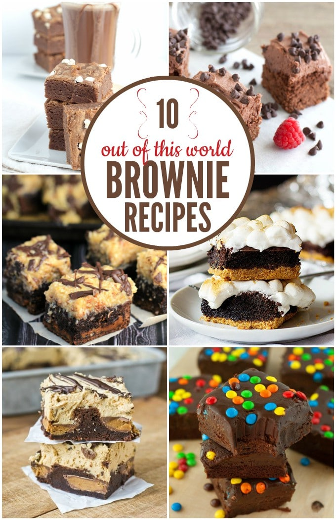 10 out-of-this-world good brownie recipes