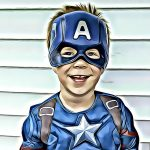DIY Superhero Party Invitation with BeFunky