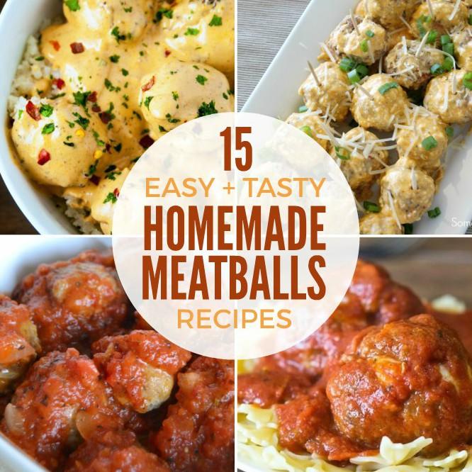 Easy Homemade Meatballs Recipes + Funtastic Friday 112