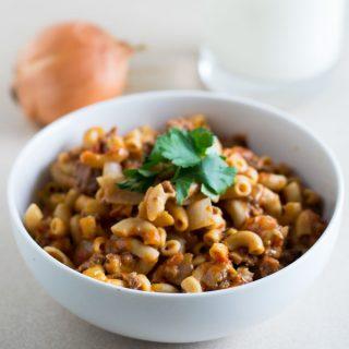 Simple Goulash Recipe | 30 Minute Dinner Idea