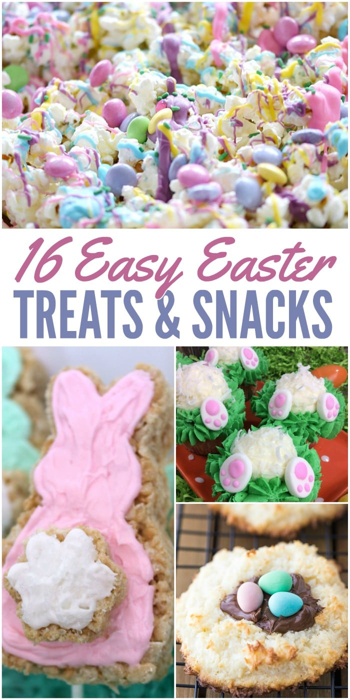 16 Easy Easter Treats and Snacks for Kids