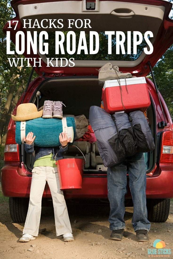17 Hacks for Road Trips with Kids