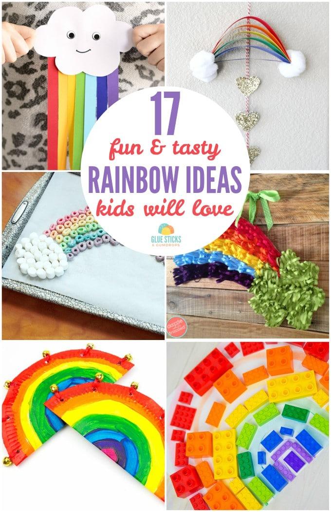 17 Rainbow Ideas Kids Will Love