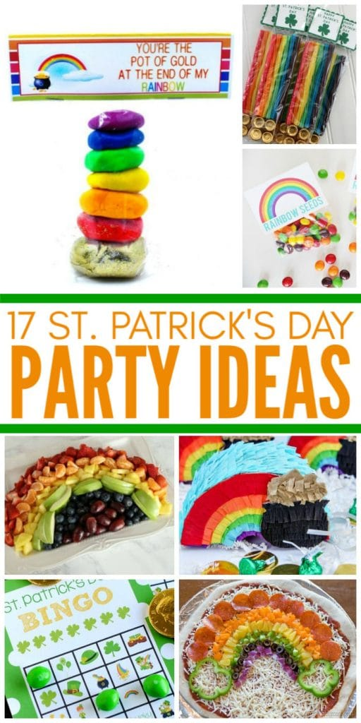 17 Simple St. Patrick's Day Party Ideas for Kids