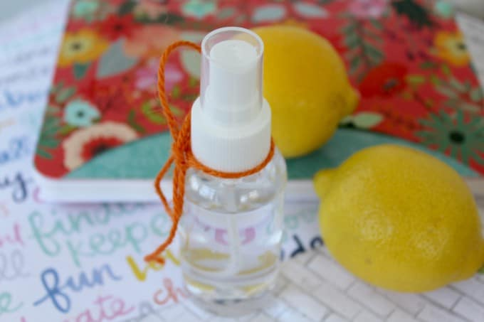 Boost your spirits with this Essential Oil Mood Lifting Spray