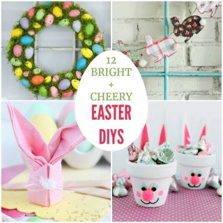 bright and cheery easter diys