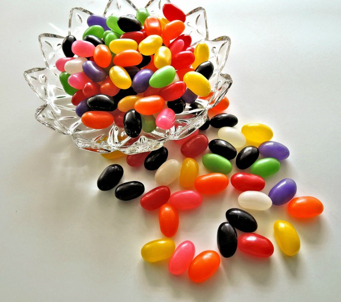 Easter traditions - Plant jelly beans the night before Easter Sunday