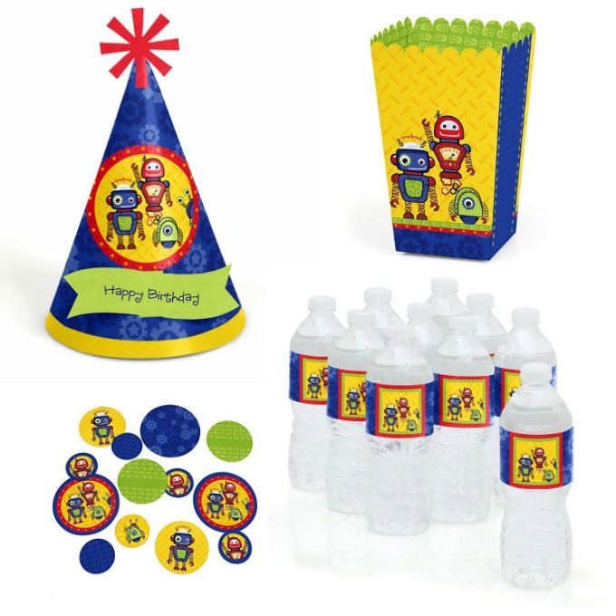cute robot party supplies kids will love