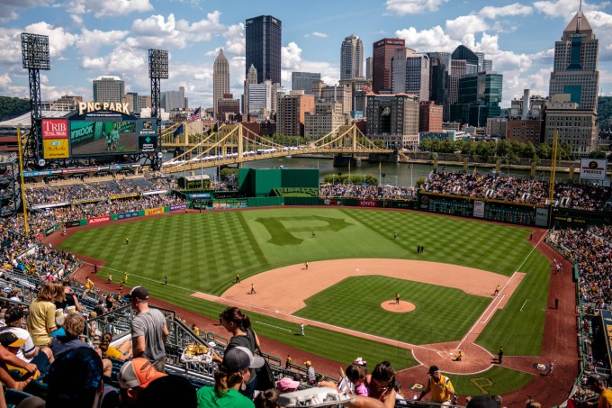 Spring Date Ideas - go to a baseball game!