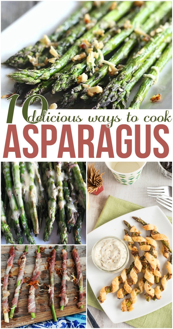 10 Delicious Ways to Cook Asparagus
