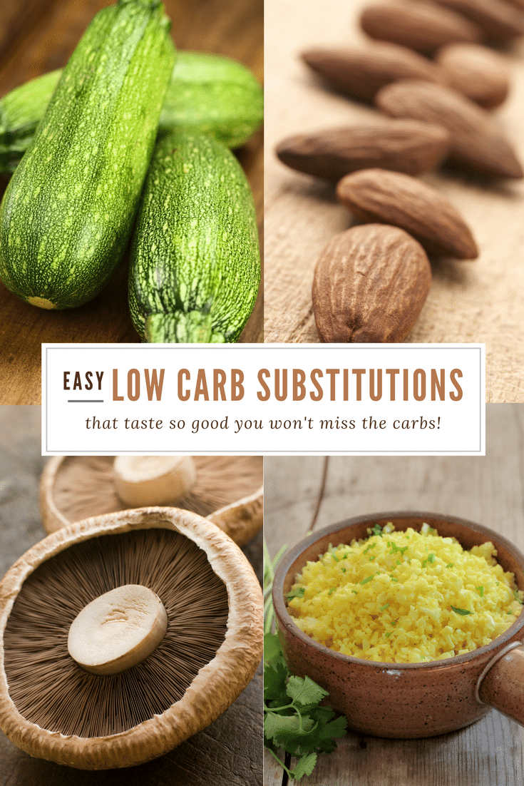 12 Low Carb Subsitutions That Taste Great