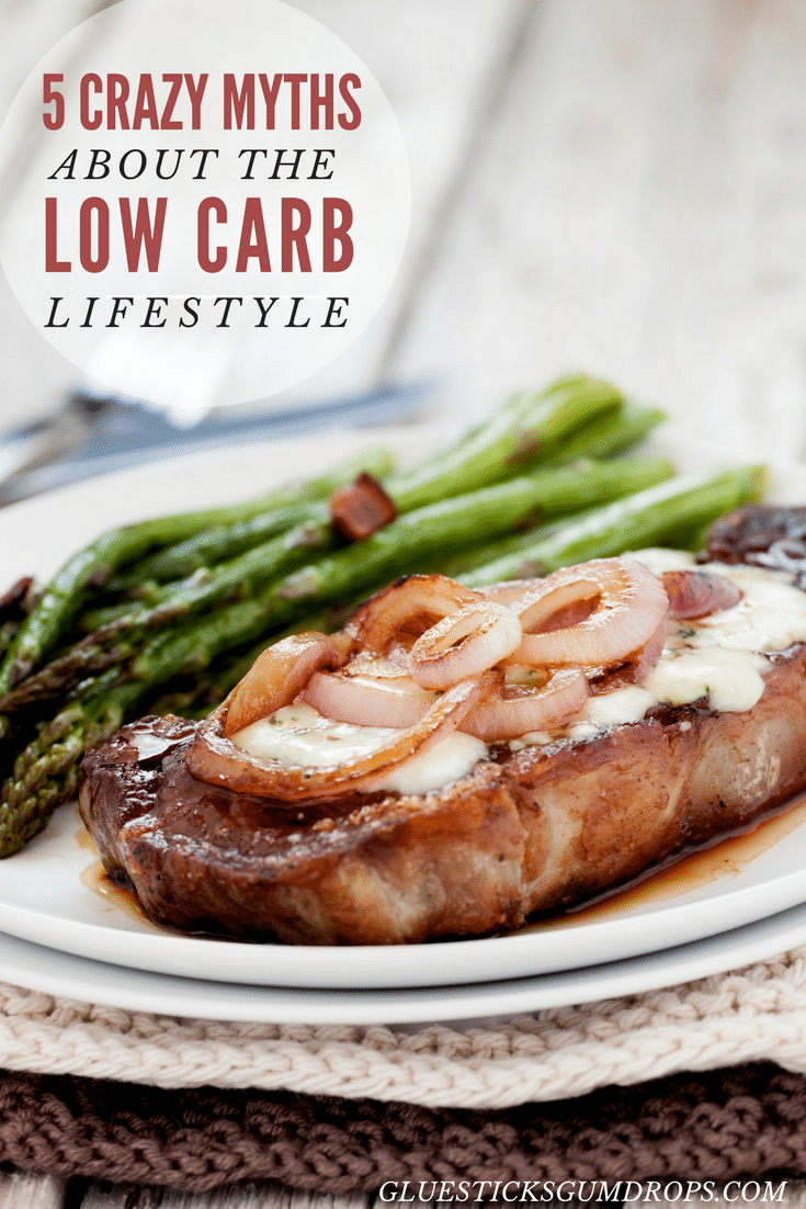 5 Biggest Myths About the Low Carb Lifestyle - which ones have you heard?