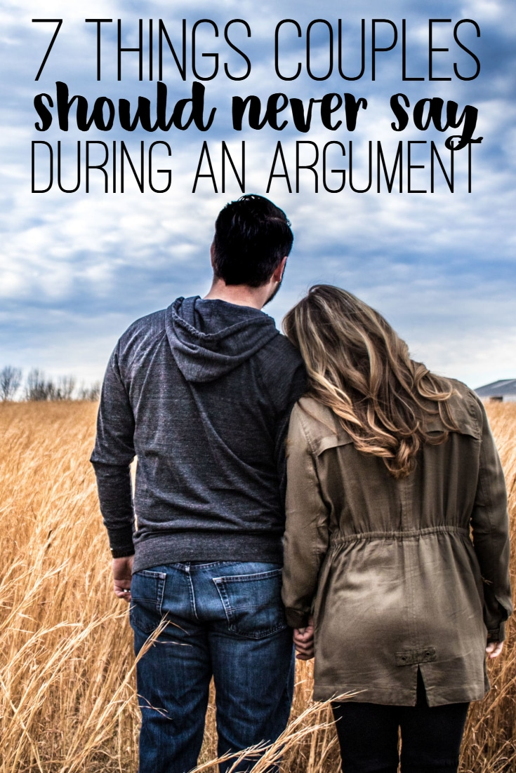7 Things You Should Never Say During an Argument
