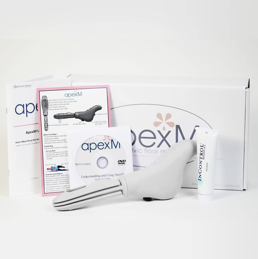 ApexM Device to automate kegels and cure urinary incontience