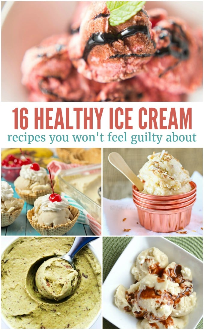 16 Healthy Ice Cream Recipes You Can Feel Good About Eating