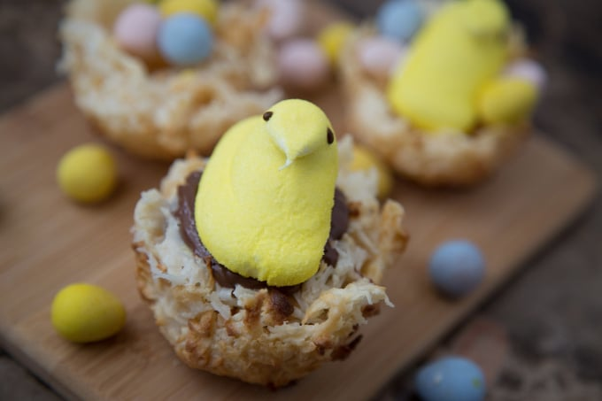 Easter Peep Macaroons