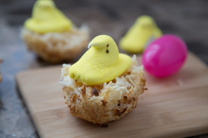 Peeps Macaroons for Easter
