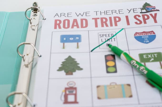 Road Trip Activity Book for Kids